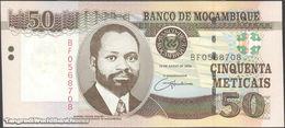 TWN - MOZAMBIQUE 144a - 50 Meticais 16.6.2006 Prefix BF UNC - Mozambique