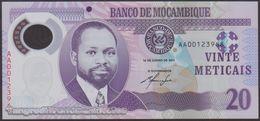 TWN - MOZAMBIQUE 149a - 20 Meticais 16.6.2011 Polymer - Prefix AA UNC - Moçambique