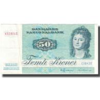 Billet, Danemark, 50 Kroner, 1972, KM:50a, TTB - Dinamarca