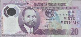 TWN - MOZAMBIQUE 149b - 20 Meticais 16.6.2017 Polymer - Prefix AB UNC - Moçambique