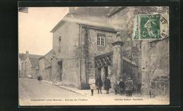 CPA Chaumont, Entree Du Theatre - Chaumont