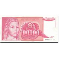 Billet, Yougoslavie, 100,000 Dinara, 1989, 1989-05-01, KM:97, SUP - Yougoslavie