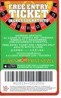 ITALY KEY CASINO    -  CASINO' DI VENEZIA ( ATTENTION VARIANT ) - Cartes De Casino