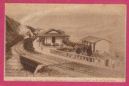 Estación Del Ferrocarril Santiago. Santo Domingo (Antioquia). Colombia 1926 Old Postcard - Colombia
