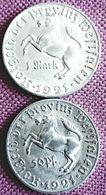 DUITSLAND / WESTFALEN ;  50 REICHSPFENNIG+ 1 MARK  1921 INFLATION NOTGELT - [ 3] 1918-1933 : Repubblica Di Weimar