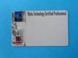 ALPHA TECHNOLOGY - Fast Academy ... Rotkreuz ( Switzerland Card ) * Suisse Schweiz Svizerra - Andere Sammlungen