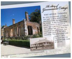 (B 14) Australia - TAS - Port Arthur (cottage) - Port Arthur