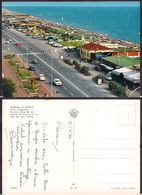Italia - Cartolina Postale - Marina Di Massa - Viale Lungomare - 1966 - Circulee - Cygnus - Massa