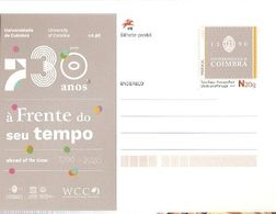 Portugal ** & Postal Stationary, 730 Years Of The Coimbra University, Ahead Of Its Time 2018 (6888) - History