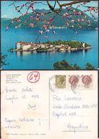 Italia - Cartolina Postale - Lago Maggiore - Isola Bella - 1981 - Circulee - Cygnus - Verbania