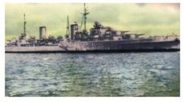 (B 15) Australia - HMAS Hobart Warship Card (old) - Autres Collections