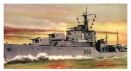 (B 15) Australia - HMAS ANZAC Warship Card (old) - Autres Collections