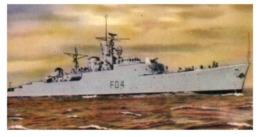 (B 15) Australia - HMAS Quickmatch Warship Card (old) - Autres