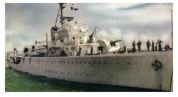 (B 15) Australia - HMAS Warrego Warship Card (old) - Autres Collections