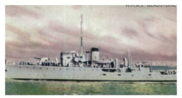 (B 15) Australia - HMAS Gladstone Warship Card (old) - Autres