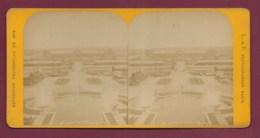 040720A - PHOTO STEREO L & F - 75 PARIS Exposition 1878 - Vue Générale Du Champ De Mars Prise Du Trocadéro - Fotos Estereoscópicas