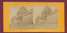 040720A - PHOTO STEREO - 75 PARIS Le Nouveau Louvre - Fotos Estereoscópicas