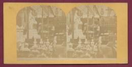 040720A - PHOTO STEREO - 75 PARIS - Exposition Greece Buste Statue - 1878 ? - Fotos Estereoscópicas