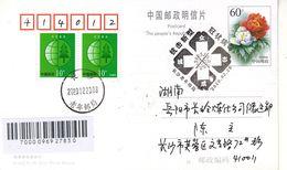 China 2020 Hu Nan Chang Sha Fight Epidemic(Covid-19) Entired Postal Card B - 1949 - ... People's Republic
