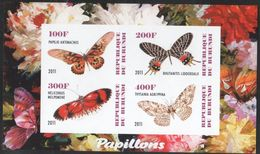 Burundi - #Butterflies - MNH S/s - 2010-..: Nuovi