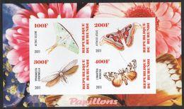 Burundi - Butterflies - MNH S/s - 2010-..: Nuovi