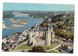 49 - SAUMUR - Le Château (XIVe-XVIe Siècle) Et La Loire - Vue Aérienne (K192) - Saumur
