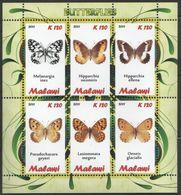 Malawi - Butterflies - MNH S/s - Malawi (1964-...)