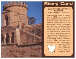 (B 16) Australia - TAS - Port Arthur Powder Magazine & Guard House - Port Arthur
