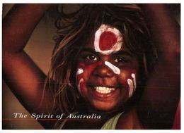 (B 16) Australia - Aboriginal Girl - Aborigenes