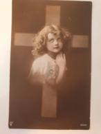Carte Postale Ancienne Photo De Femme Siècle Dernier Espérance - Fotografía