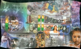 MEXICO 1999 20TH CENTURY SHEET OF 5, EDUCATION** (MNH) - Mexico