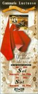MEXICO 1999 BULLFIGHTER PONCIANO DIAZ S/S** (MNH) - Mexico