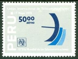 PERU 1978 TELECOMMUNICATIONS DAY** (MNH) - Peru