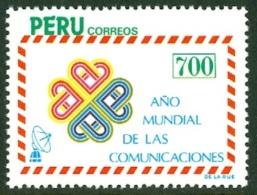 PERU 1984 COMMUNICATIONS YEAR** (MNH) - Peru