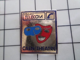 415b Pin's Pins / Rare & Belle Qualité !!! THEME : FRANCE TELECOM / AGENCE DE CAEN THEATRE - France Telecom