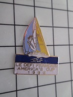 415b Pin's Pins / Rare & Belle Qualité !!! THEME : SPORTS / 1992 VOILE DEFI FRANCAIS AMERICA'S CUP - Sailing, Yachting