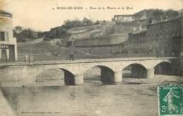 42 -  RIVE DE GIER -  PONT DE LA MAIRIE ET LE QUAI - Rive De Gier
