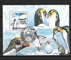 GUINEE-BISSAU 2009 PINGOUINS YVERT N°B467 OBLITERE - Penguins