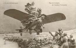 PATRIOTIQUE - POUR LE TRIOMPHE DE L'AVIATION FRANCAISE - Patriotiques