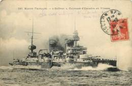 MARINE FRANCAISE - SUFFREN - CUIRASSE D'ESCADRE EN VITESSE - Warships