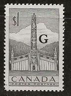 Canada 1953 N° Y&T : SE. 32 ** - Officials