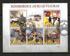 GUINEE-BISSAU 2009 POMPIERS YVERT N°3085/89 OBLITERE - Firemen