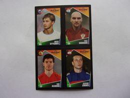 PANINI  FOOT Euro 2004, Portugal N°45 68 129 210 Dimitri Sytchev Ivica Mornar Xabi Alonso Dzintars Zirnis - Panini
