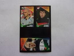 PANINI  FOOT Euro 2004, Portugal N°150 206 227 Zdravko Zdravkov Aleksandrs Kolinko Carsten Ramelow - Panini