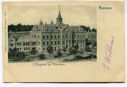 CPA - Carte Postale - Belgique - Verviers - L'Hôpital De Verviers - 1899 (WB12951) - Verviers