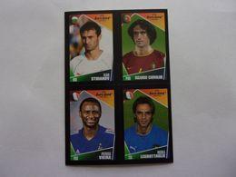 PANINI  FOOT Euro 2004, Portugal N°8 80 153 177 Ilian Stdianov Ricardo Carvalho Patrick VIEIRA Nicolas Legrottaglie - Panini