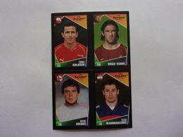 PANINI  FOOT Euro 2004, Portugal N°13 90 196 207 Tomas Galasek Hugo Viana Wayne Bridge Olegs Blagonadezdins - Panini