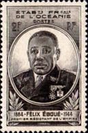 Océanie Poste N** Yv:180/181 Félix Eboué - Oceania (1892-1958)