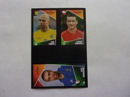 PANINI  FOOT Euro 2004, Portugal N°75 137 200 Teddy Lucic Vladimir Smicer Mikaël Silvestre - Panini