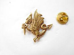 Superbe Pin's En Relief , Armée Militaire , Dragons ?? - Militaria